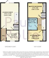 Chalet Bungalow Floor Plans Uk 2 Bedroom End Of Terrace House For Sale In 31 Acre View Bo U0027ness Eh51