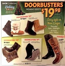 shoe carnival black friday ads sales deals doorbusters 2016