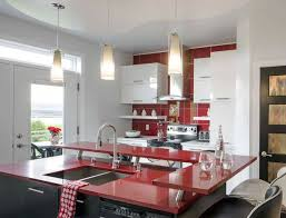 comptoir de la cuisine armoire de cuisine blanche et un comptoir idées pour la