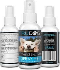 amazon com dog breath freshener spray me doggy dental spray