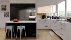 white gloss glass kitchen cabinets acrylic kitchen cabinets granite countertops quartz