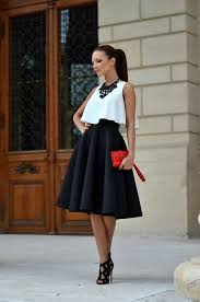 how to wear black and white chic street style ideas fashion twin
