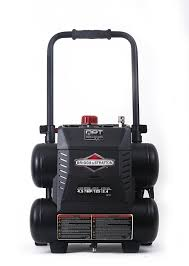 briggs u0026 stratton 3 gallon quiet power technology air compressor
