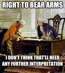 Right To Bear Arms Meme - right to bear arms i don t think that ll need any further