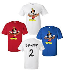 mickey mouse 1st birthday shirt happy birthday mickey mouse disney t shirts front