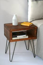 best small dark wood side table best 25 small bedside tables ideas