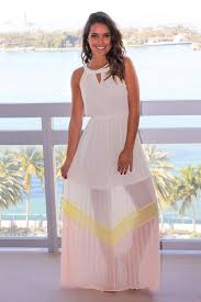 cream color block pleated maxi dress maxi dresses u2013 saved by the