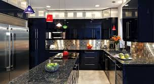 What Color Kitchen Cabinets With Black Appliances B  J - Black lacquer kitchen cabinets
