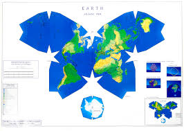 World Map With Antarctica by Review Of Waterman Octahedral World Map
