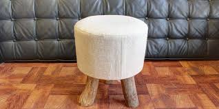Upholster Ottoman Custom Ottoman Reupholstery Furniture Upholstery Los Angeles