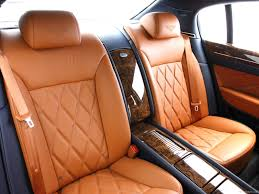 bentley orange interior bentley continental flying spur speed 2009 picture 19 of 34