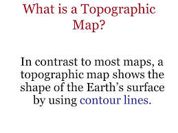 topographic maps ppt video online download