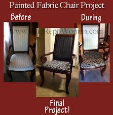 Fabric Paint For Upholstery Amazing Painting Fabric Chairs With Step Step Instructions How To