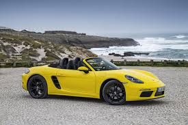 Porsche Boxster Non Convertible - review 2017 porsche 718 boxster s is faster on fewer cylinders