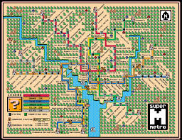 Washington Dc City Map by Super Mario Bros 3 World Map For The Washington Dc Metro Gaming