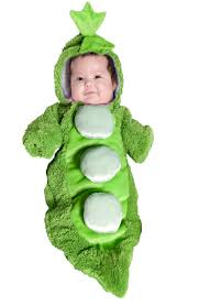 newborn costumes halloween pea in a pod bunting infant costume buycostumes com