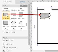 how to draw a floor plan for a house how to draw a floor plan with smartdraw