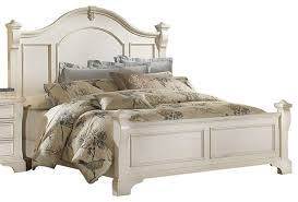 american woodcrafters heirloom collection king poster bed antique