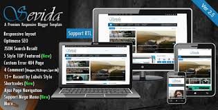 sevida v2 5 responsive blogger template free download mahthemes