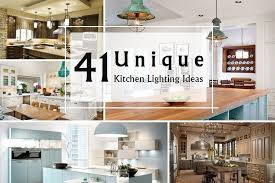 unique kitchen lighting ideas 41 unique kitchen lighting ideas that are attractive homeoholic