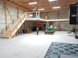 need help with pole barn loft design