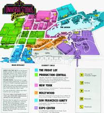 Universal Studios Hollywood Map Universal Studios Florida 25 Years On A Year Of Britain