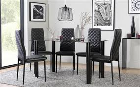 Glass Dining Room Table Set Endearing Glass Dining Sets Furniture Choice Of Room Table And