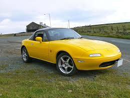 mazda ltd sunburst yellow eunos roadster mk1 j ltd ii 1 8 1994 mazda