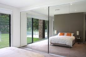 Mirror Sliding Closet Doors For Bedrooms Large Mirrored Sliding Closet Doors New Home Design Mirrored