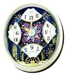 wall clocks seiko melodies in motion wall clock instructions