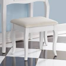 Vanity Chairs And Stools Amazon Com Roundhill Furniture Ribbon Wood Make Up Vanity Table