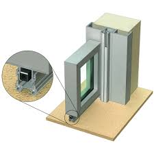 Aluminium Home Decor Is7080si Is8110si For Non Rated Single Leaf Side Hung Aluminium