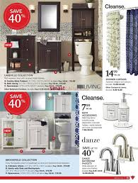 Canadian Tire Bathroom Vanity Canadian Tire Big Brands Living Guide October 23 To November 12