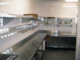 commercial kitchen backsplash www stainlesssteeltile likes the small commercial kitchen