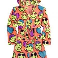 emoji robe emoji fleece robe girls category from justice