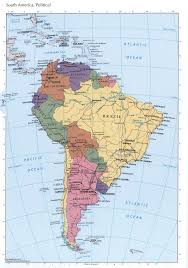 Map Of Sounth America by South America Political Mapfree Maps Of North America