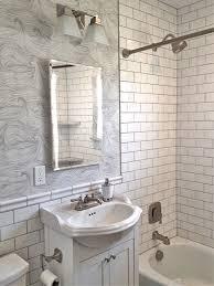 Wallpapered Bathrooms Ideas 152 Best Wallpaper Images On Pinterest Bathroom Ideas Bathroom