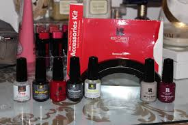 Red Carpet Gel Polish Pro Kit Obsessed By Beauty Review Red Carpet Manicure Kit