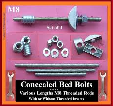 Replacement Bolts For Bed Frame Bed Assembly Fittings Sets Knock Connectors