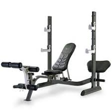 Weight Bench With Spotter Marcy Md857 Diamond Elite Olympic Weight Bench With Squat Rack