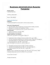 free sle resume exles business administratoresume exles templates business