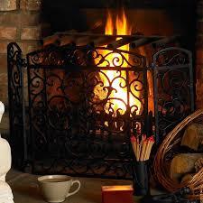 duqaa com black cast iron fireplace screen panel info duqaa com