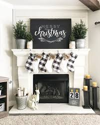 Simple Fireplace Designs by Love This Simple Black And White Christmas Decor U2022 Instagram Photo