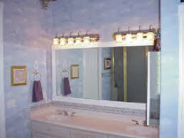 framed bathroom mirror ideas framing a bathroom mirror impressive framed bathroom mirrors