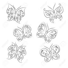 beautiful sketches of butterfly sketches pencil and butterflies on