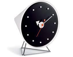 desk clock george nelson cone desk clock hivemodern com