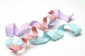 sewing and crafting with how to make wired fabric ribbon