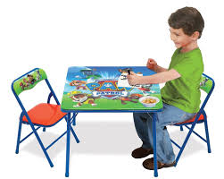 amazon childrens table and chairs amazon com paw patrol activity table sets toys games
