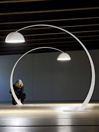 elegant curved floor lamp the 25 best ideas about curved floor