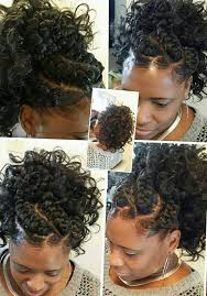 goddess braids with ponytail by darlean thickyd green brown